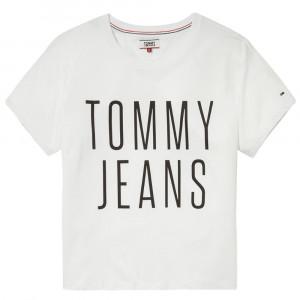 Cropped Logo T-Shirt Mc Femme