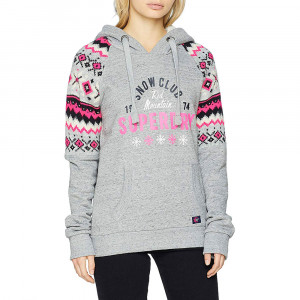 Dakota Fairisle Sweat Cap Femme