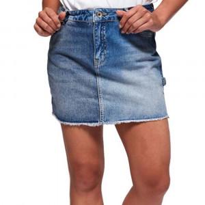 Denim Micro Mini Jupe Jeans Femme