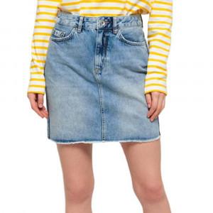 Denim Mini Skirt Jupe Femme
