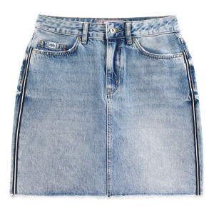 Denim Mini Skirt Jupe Femme