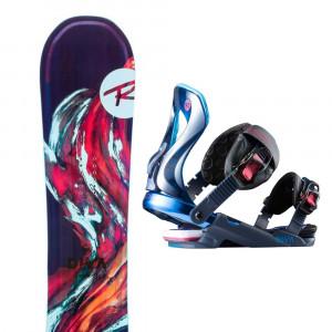 Diva Lf Snowboard + Fixation Diva S/m Femme