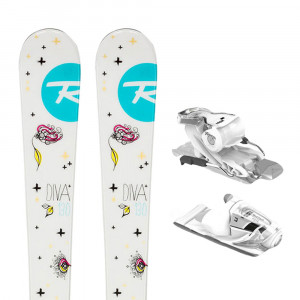 Diva Xp Ski + Xpress Jr 7 B83 Fixations Fille