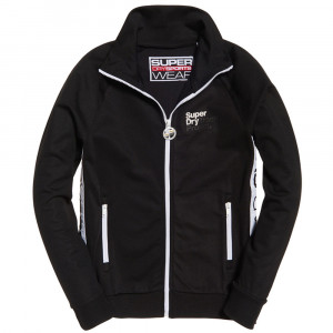 Drop Track Sweat Zip Femme