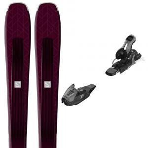 E Aira 76 St Ski+Lithium 10W Fixations Femme