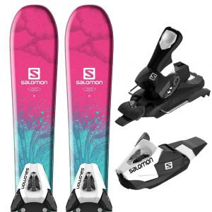 E Qst Lux Jr S Ski + E C5 J75 Fixations Enfant