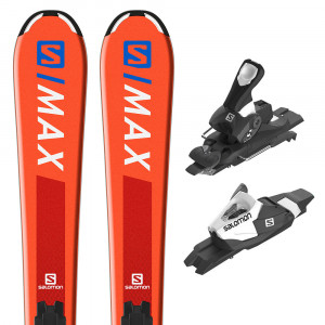 E S/max Jr M Ski+C5 J75 Fixations Garçon