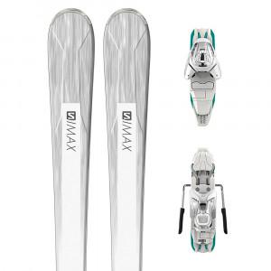 E S/max W4 Ski+Lithium 10W Fixations Femme