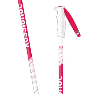 Electra Light White Bâton De Ski Femme
