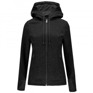 Endure Novelty Mid Wt Sweat Zip Femme