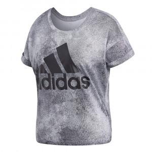 Ess Aop Top T-Shirt Mc Femme