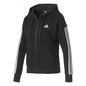 Essential 3-Stripes Fz Hd Sweat Zip Femme
