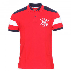 Essential Badge Polo Mc Homme