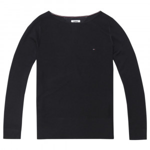 Essential Boat Neck Sweat Femme