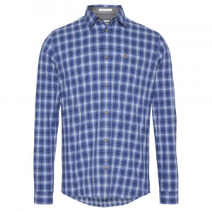 Essential Check Chemise Ml Homme