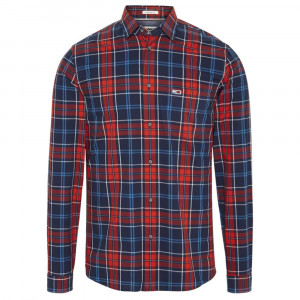 Essential Checks Chemise Ml Homme