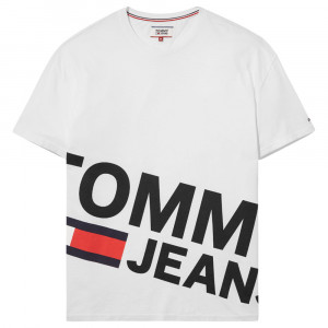 Essential Magnified Logo T-Shirt Mc Homme