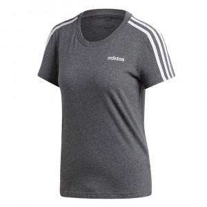 Essentials 3 Stripes T-Shirt Mc Femme