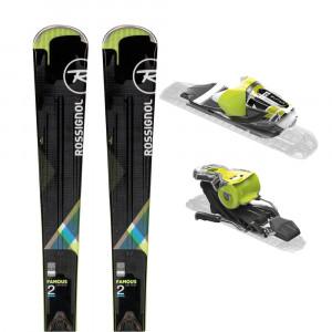 Famous 2 S Ski + Xpress W 10 B83 Fixations Femme