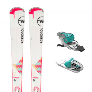 Famous 4 Ski + Xpress W 10 B83 Fixations Femme
