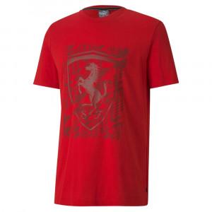 Fd Ferrari Shield T-Shirt Mc Homme