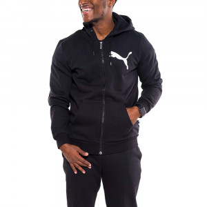 Fd Ovrsiz Lgo Sweat Zip Homme