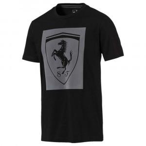 Ferrari Big Shield T-Shirt Mc Homme