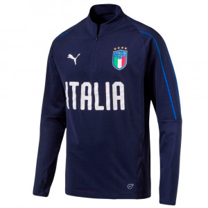 Figc 18/19 1/4 Zip Training Sweat Zip Garcon