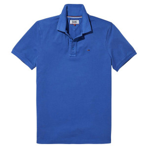 Fine Garment Dye Polo Mc Homme