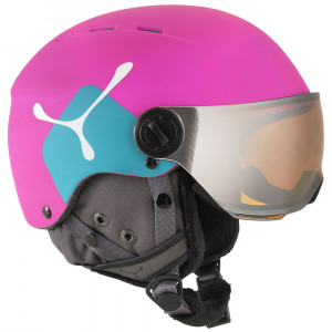 Fireball Jr Casque Ski Fille
