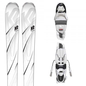 First Luv Ski + Erp 10 Fixation Femme