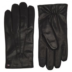 Flag Leather Gloves Gants Homme