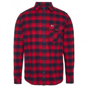 Flannel Check Chemise Ml Homme