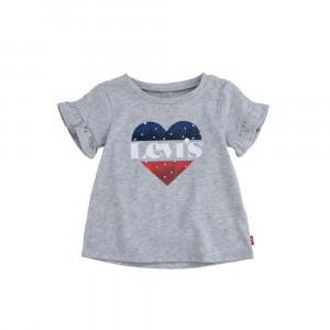 Flutter Sleeve T-Shirt Bébé Fille