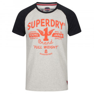 Full Weight Raglan T-Shirt Mc Homme