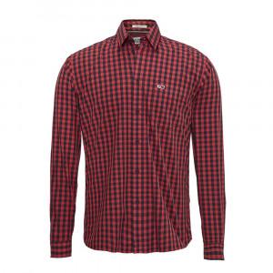 Gingham Shirt Chemise Ml Homme