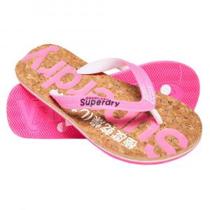 Glitter Cork Flip Flop Tongs Femme