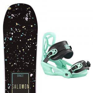 Grace Snowboard+Goodtime Fixations Fille