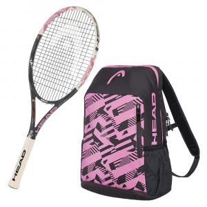 Graphene Xt Radical S Raquette Tennis + Pink Radical Sac A Dos