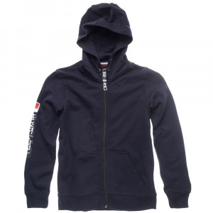 Gray Hoodu Sweat Zip Garçon