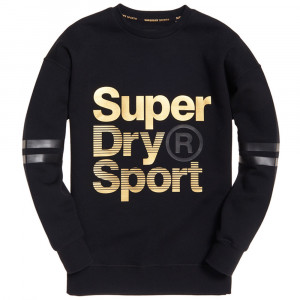 Gym Tech Gold Supercrew Sweat Femme