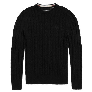 Harlo Cable Crew Pull Homme