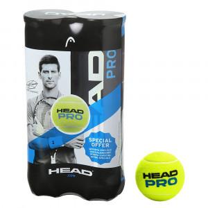 Head Pro Bipack Balles Tennis Adulte