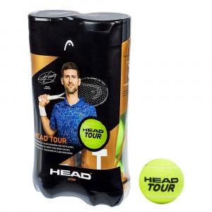 Head Tour Bipack Balles Tennis Adulte