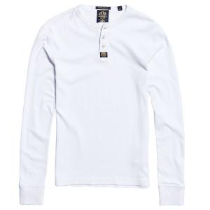 Heritage L/s Grandad T-Shirt Ml Homme
