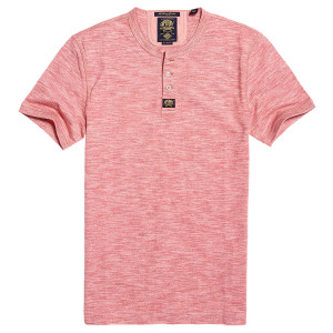 Heritage S/s Grandad T-Shirt Mc Homme