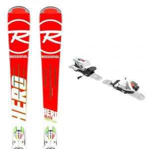 Hero Elite St Ti Ski + Nx 12 K. Dual Fixations Homme