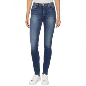 High Rise Skinny Santana Jeans Femme