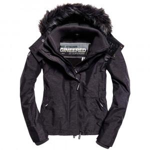 Hood Fur Sherpa Wind Attacker Parka Femme
