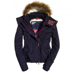 Hood Fur Sherpa Wind Attacker Parka Femme